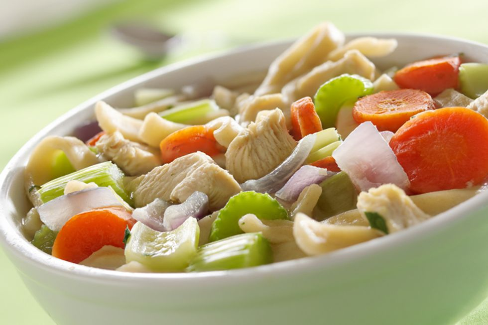 Best Food for a Cold: Chicken Soup