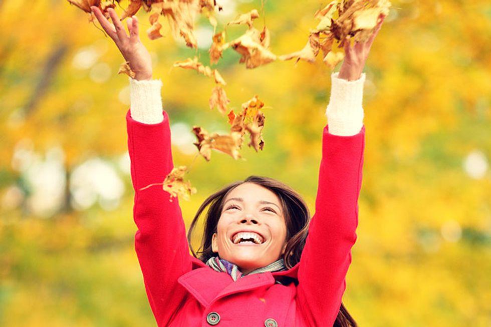 Fall Into Autumn Feeling Strong