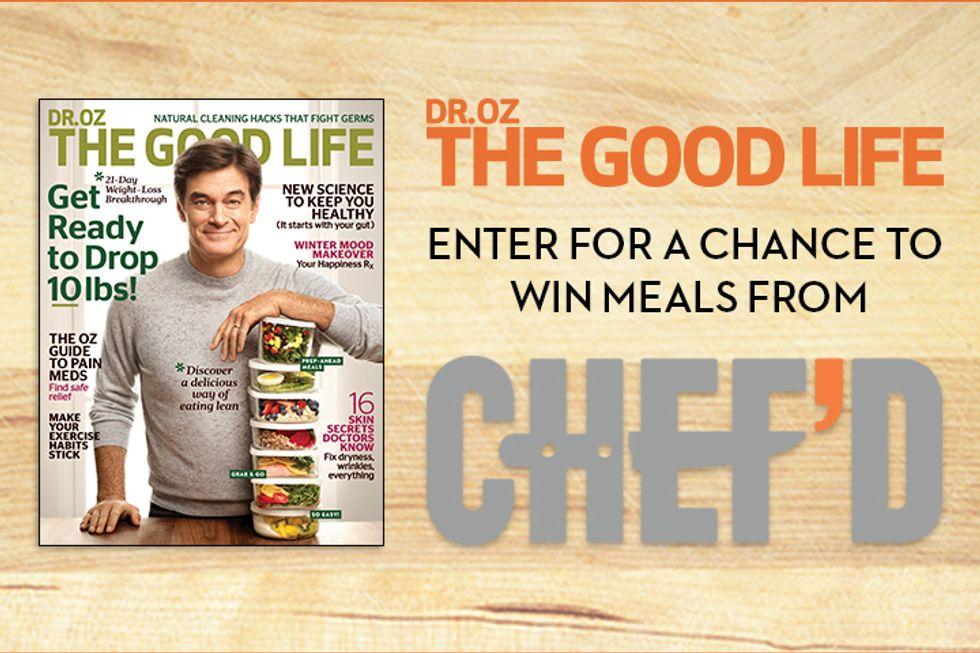 Chef'd Dr. Oz, The Good Life Magazine Sweepstakes