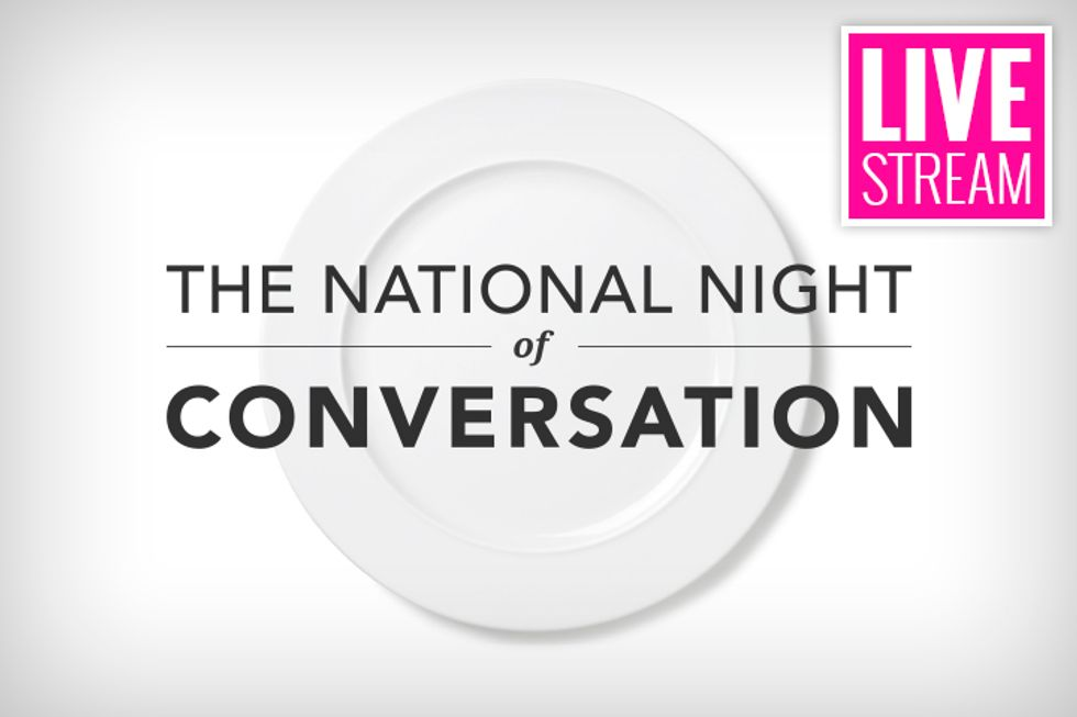 LIVE STREAM: Dr. Oz + The National Night of Conversation