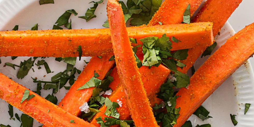 Curried-Up Carrot Sticks