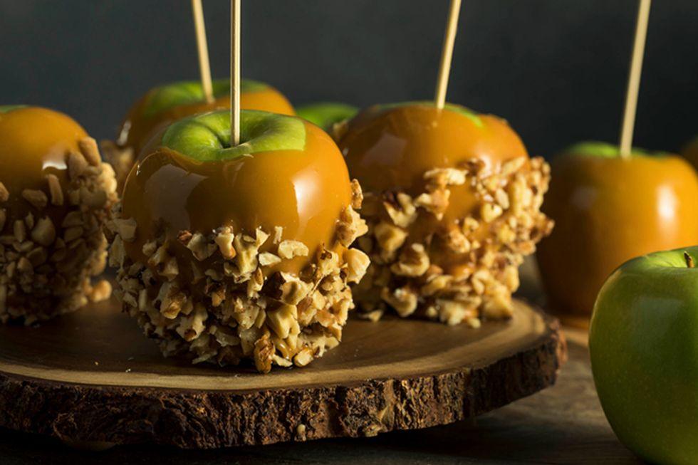 Cristina Ferrare's Chocolate Turtle Apple Slices
