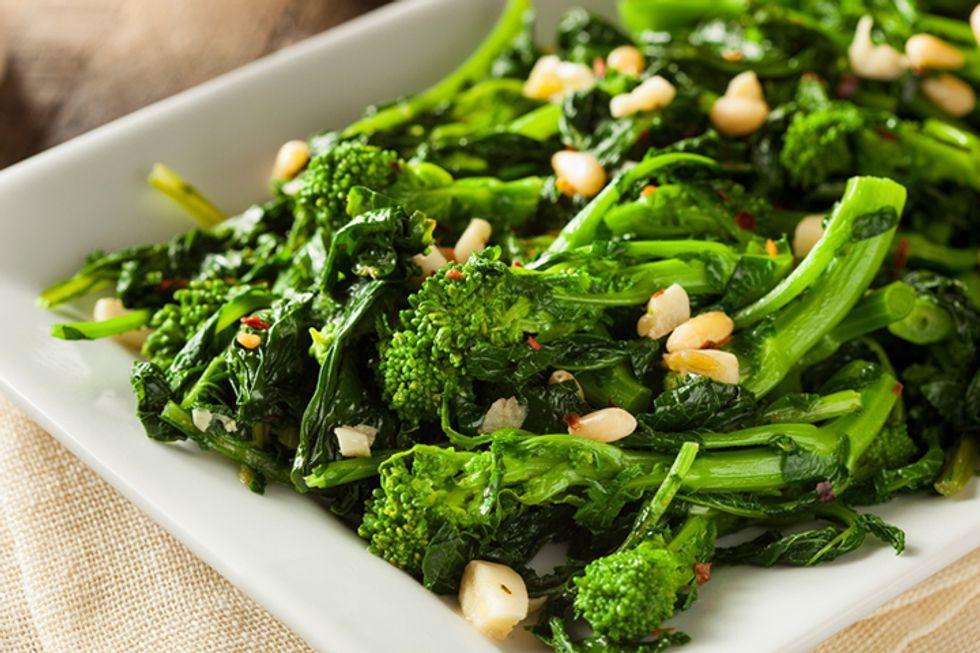 Giada De Laurentiis' Broccoli Rabe Tacos