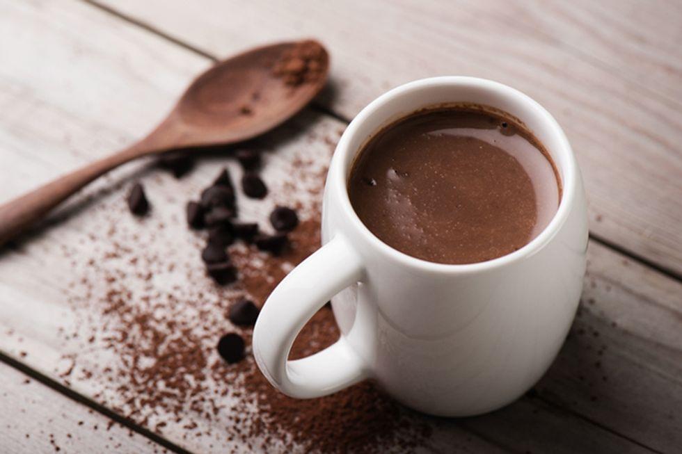 Giada De Laurentiis' Double-Cocoa Hot Chocolate