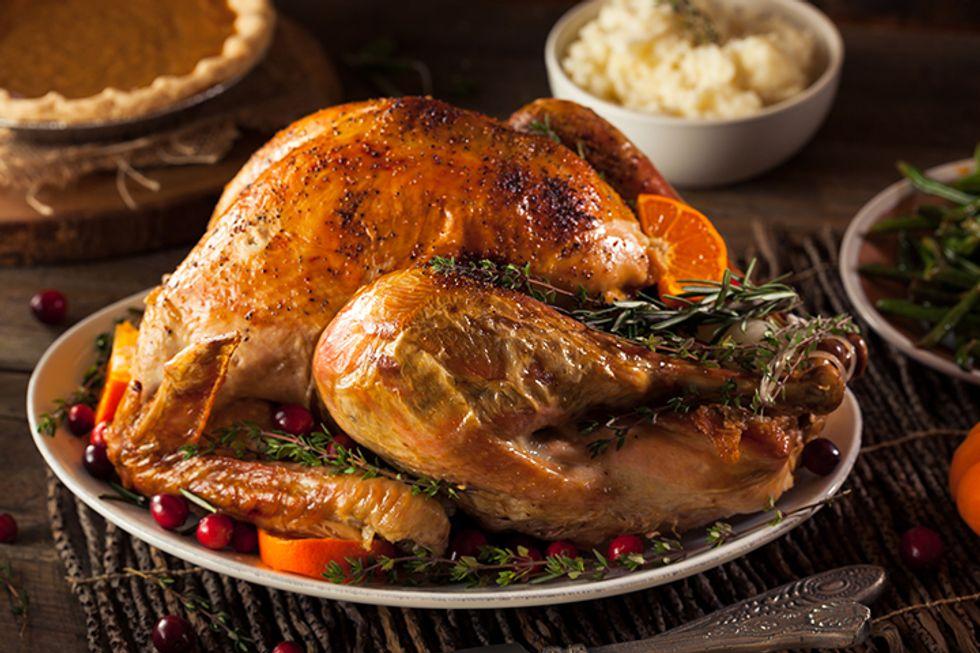 Sage Dry Brine Turkey