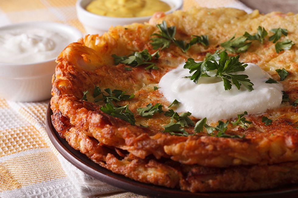 Mashed Potato Pancake