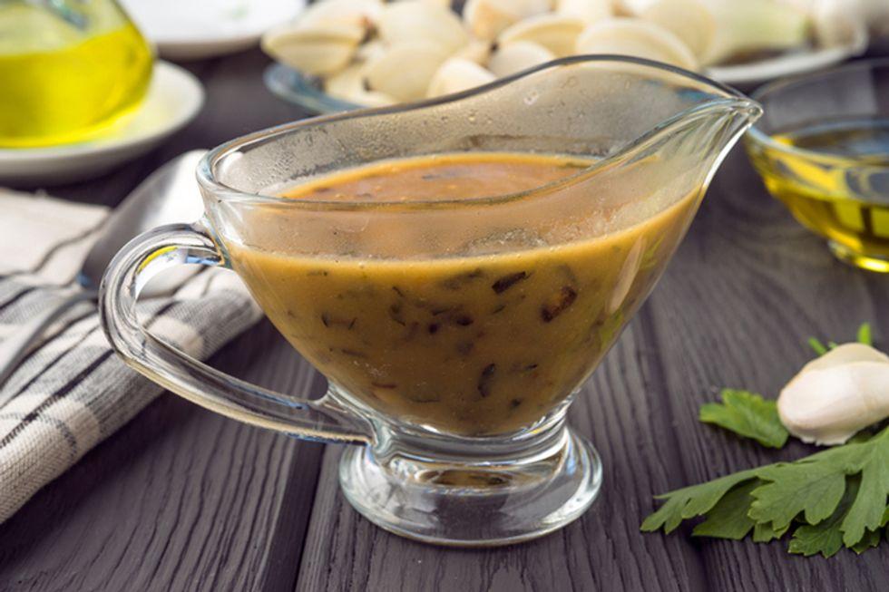 Rocco DiSpirito's Carrot Curry Gravy