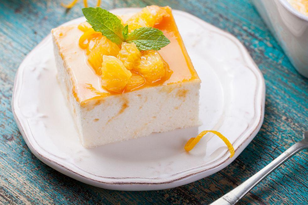 Mango-Lime Cheesecake