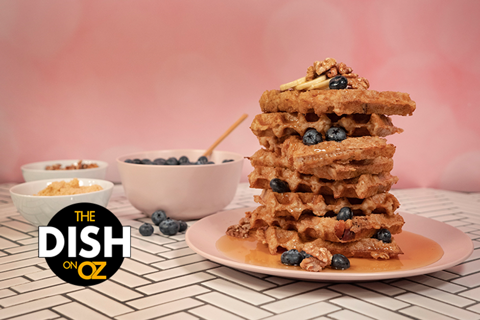Daphne Oz's Leftover Oatmeal Waffles
