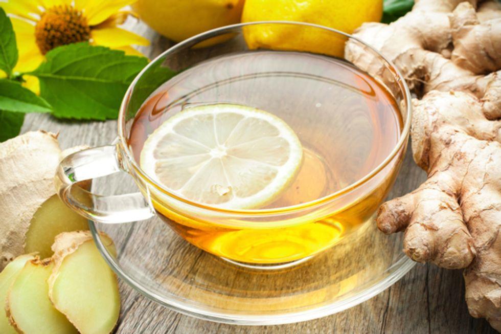 Fennel Seed Ginger Tea