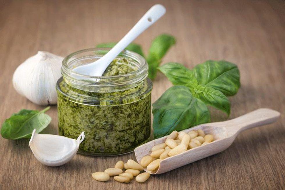 Oprah Winfrey's Asparagus-Mint Pesto