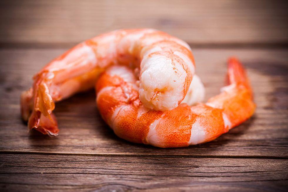 Shrimp Nori Burger