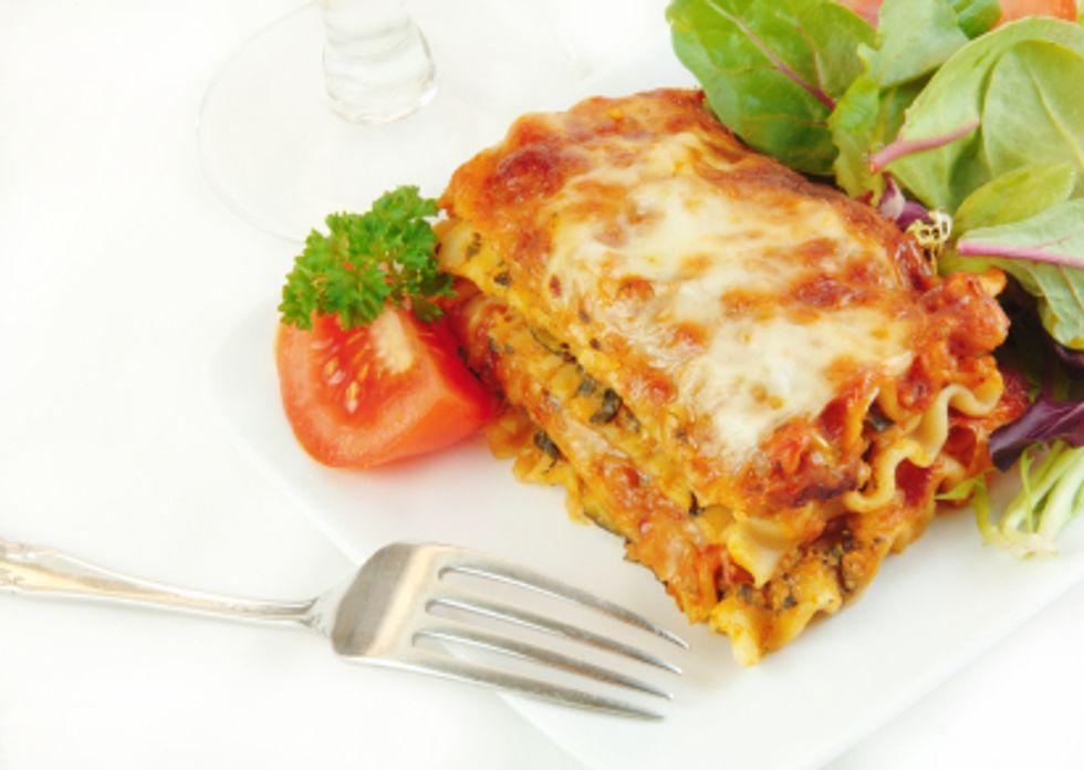 The Kitchen Diva's De'liteful Vegetarian Lasagna