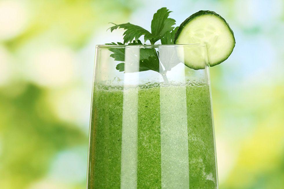 Lea Michele's Debloating Juice