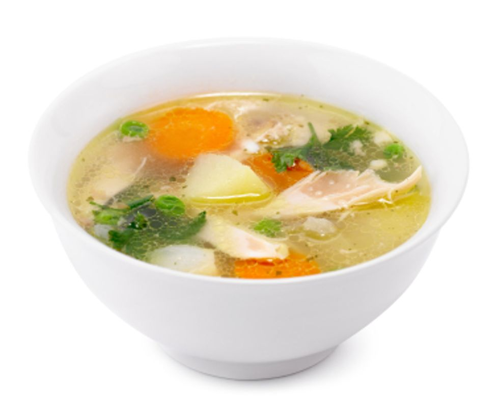 Heart Smart Chicken Soup With Whole Wheat Matzo Balls