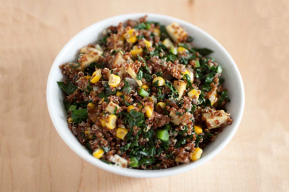 Dave Lieberman's Warm Balsamic and String Bean Quinoa Salad
