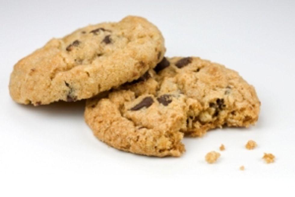 Ingrid Hoffmann's Better By Half Chocolate Oatmeal Cookies