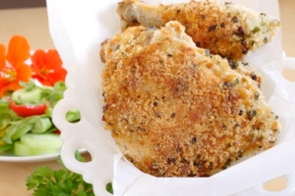 Crouton Breaded Chicken