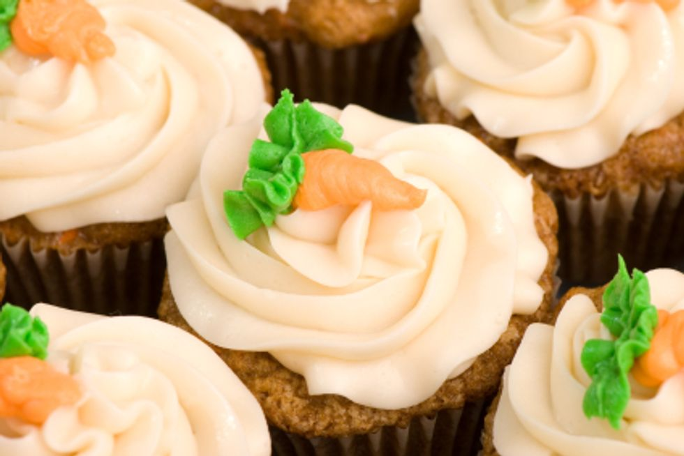 Georgetown Cupcake 50-Calorie Mini Carrot Cupcakes