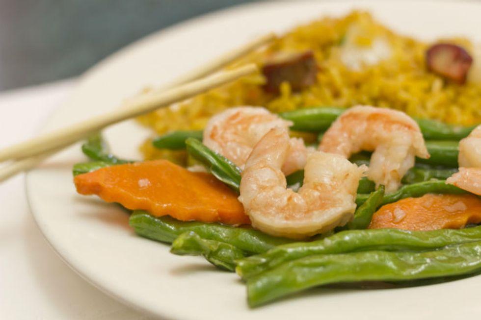 5-Minute Stir-Fry Shrimp and Green Bean