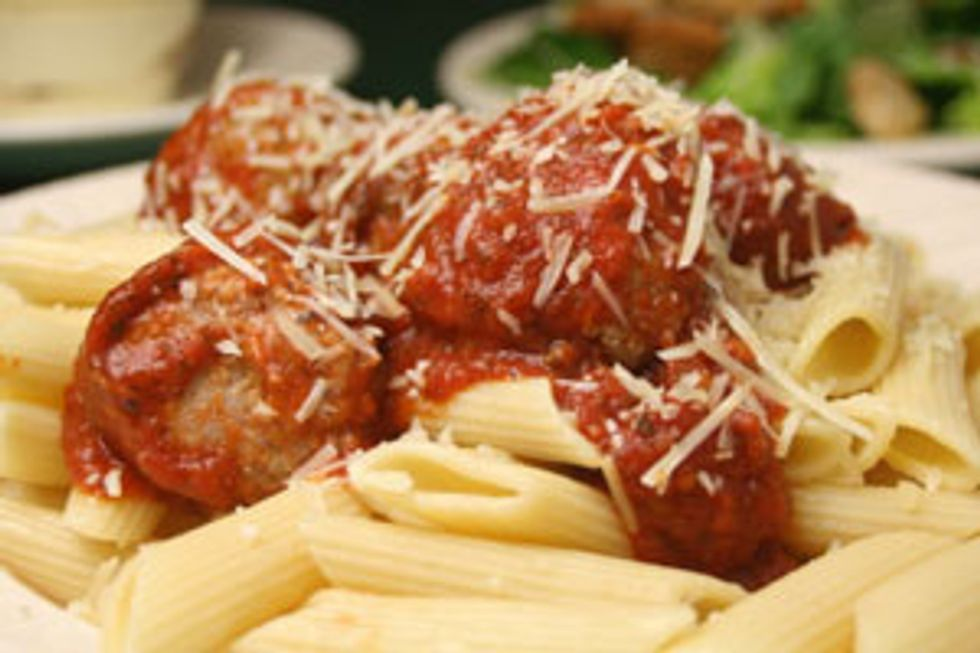 Fake-Out Meatball Parm