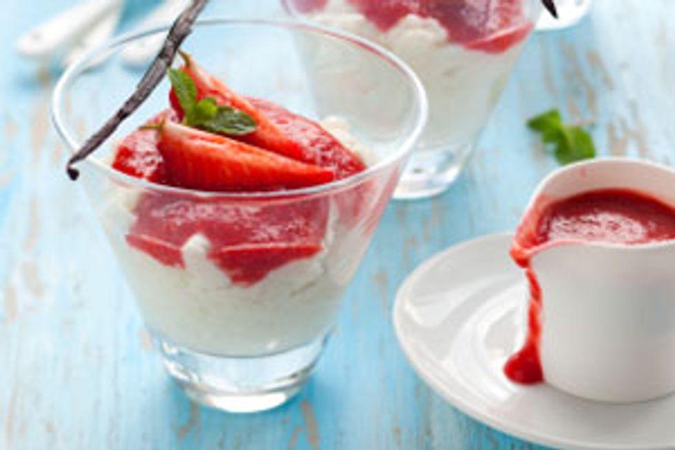 Strawberry Pudding