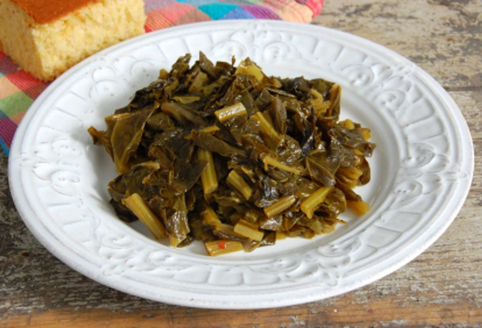 Cancer-Fighting Beans and Greens