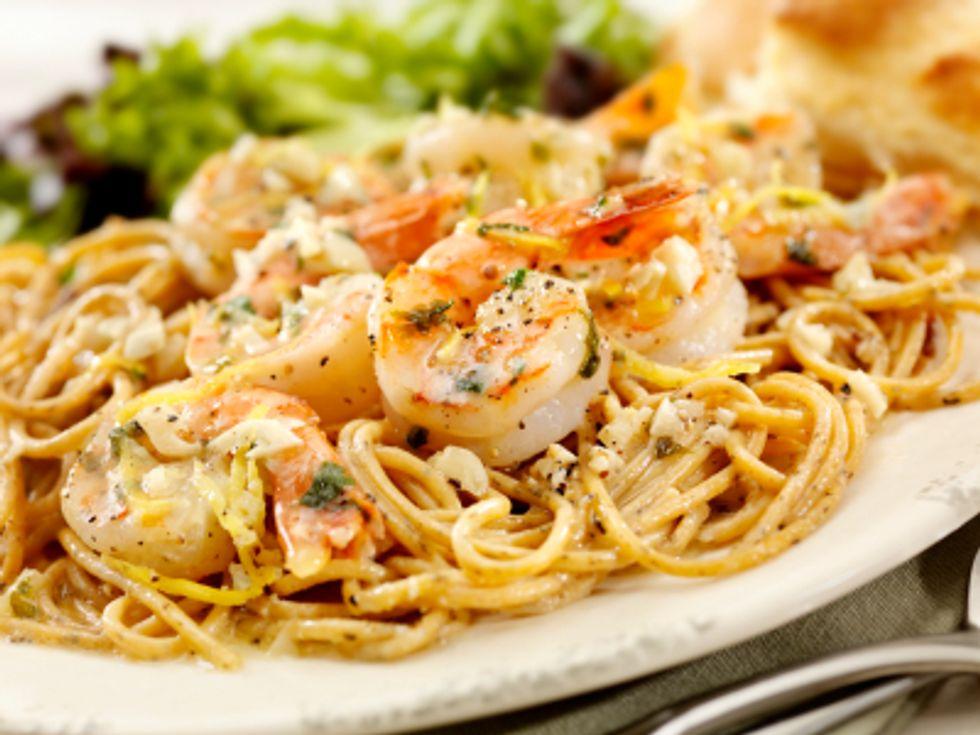 Chef Mike Isabella's Shrimp Scampi