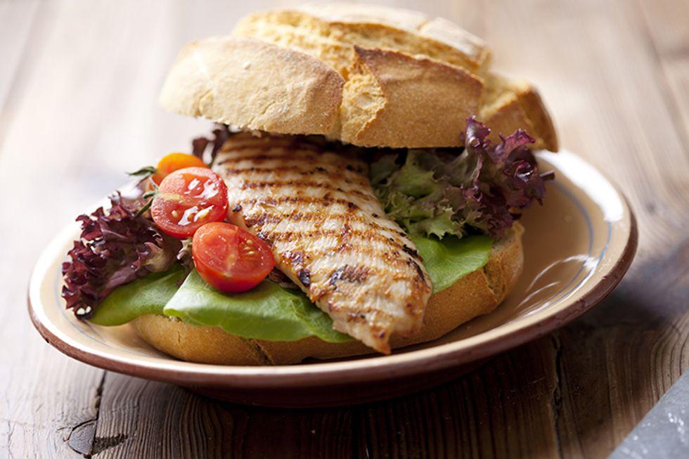 Chef Aaron McCargo Jr.'s Grilled Marinated Chicken Sandwiches