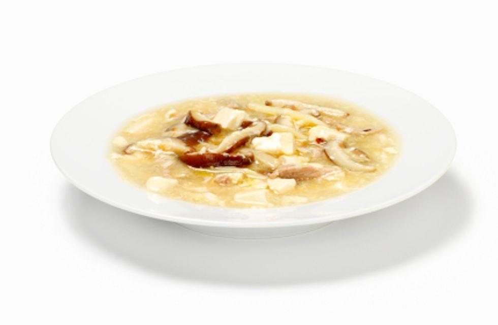 Shiitake Hot and Sour Soup