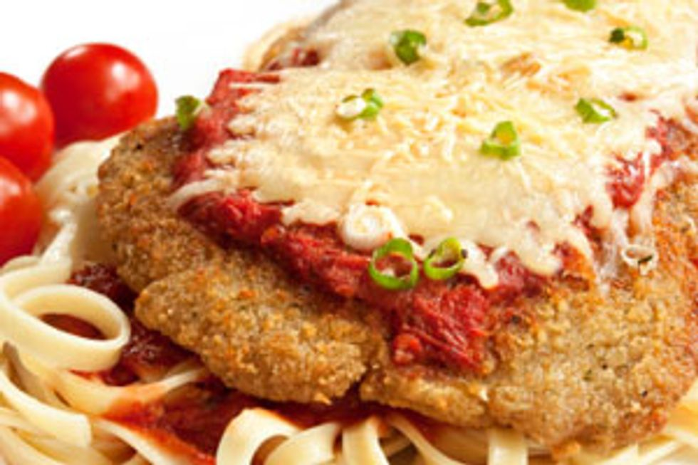 Hungry Girl's Pan-Fried Chicken Parm
