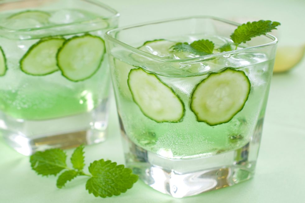 Culinary Institute of America's Cucumber Limeade