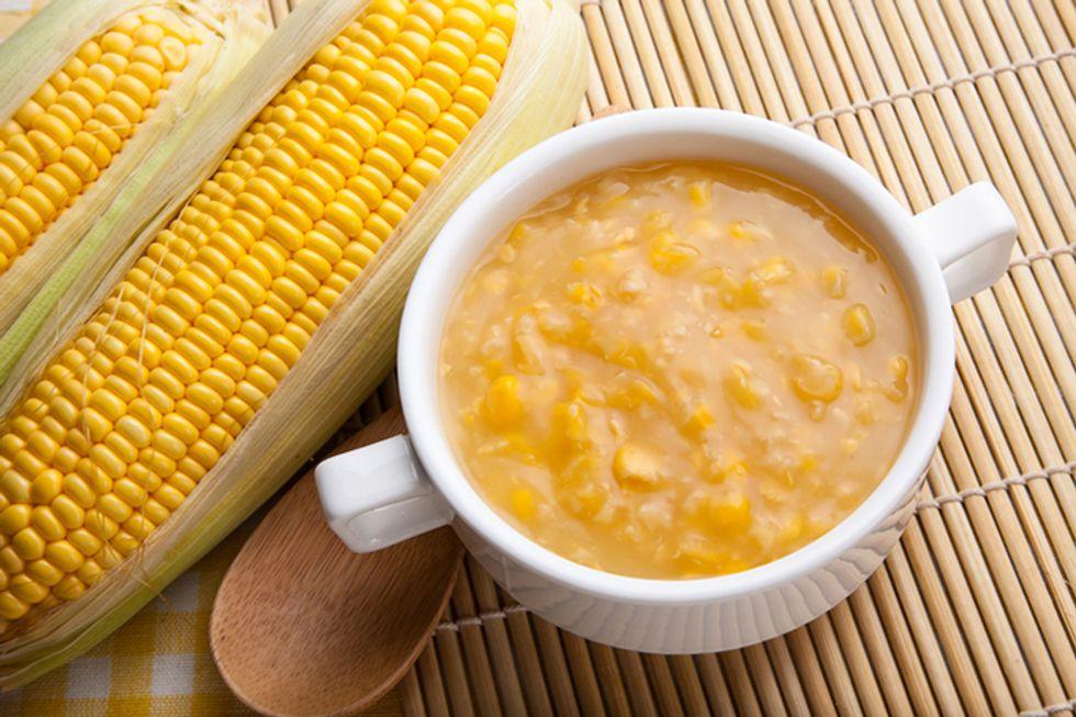 Cashew and Corn Chowder