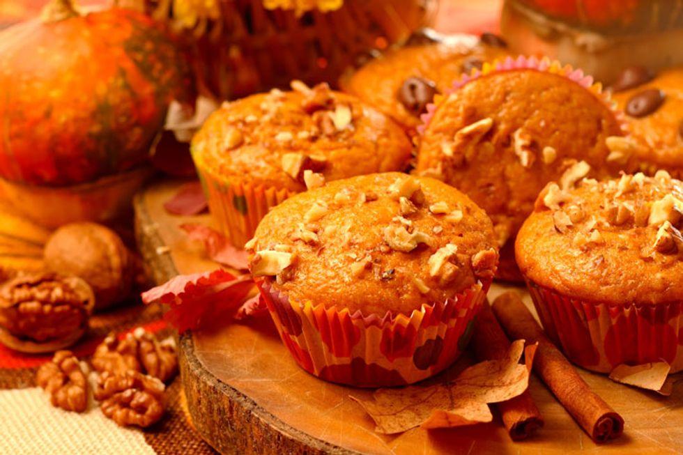 Chia Pumpkin Muffins