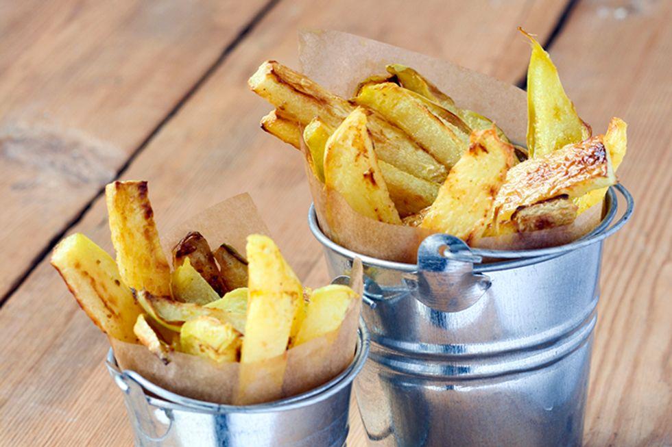 Turnip French Fries