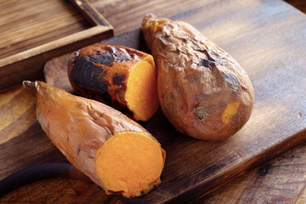 Vegetarian Shepherd's Pie with Mashed Sweet Potato Topping