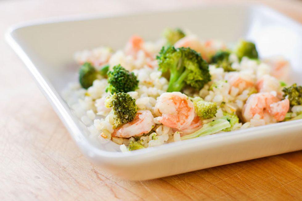 Shrimp and Broccoli Rice