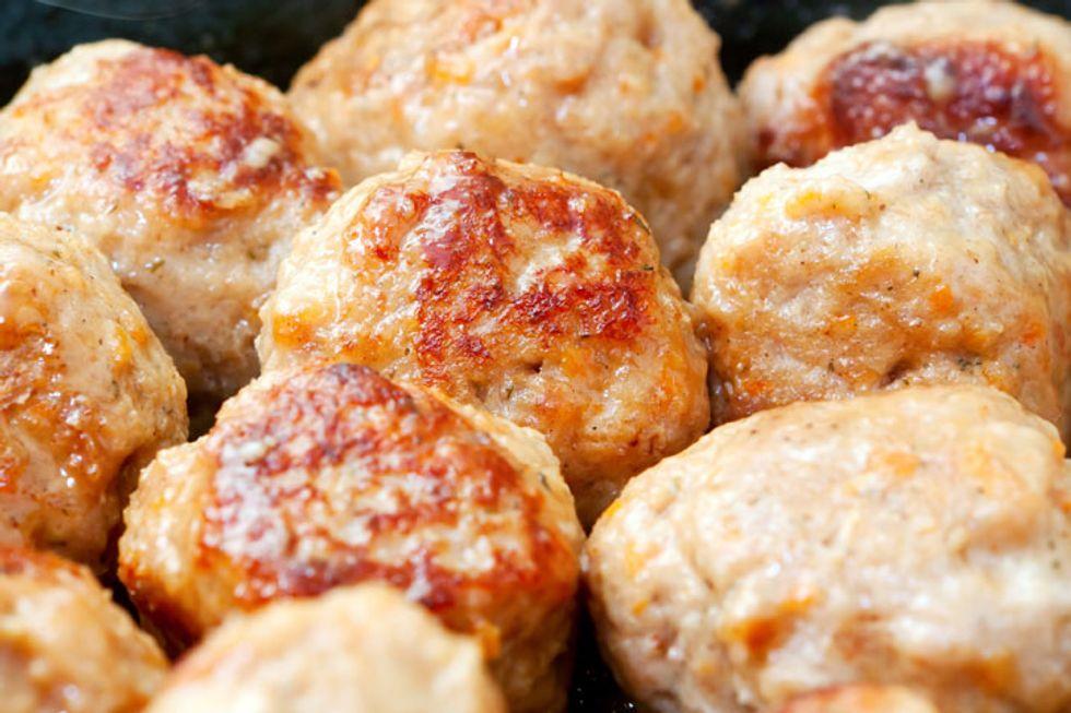Freekeh Vegetarian Meatballs