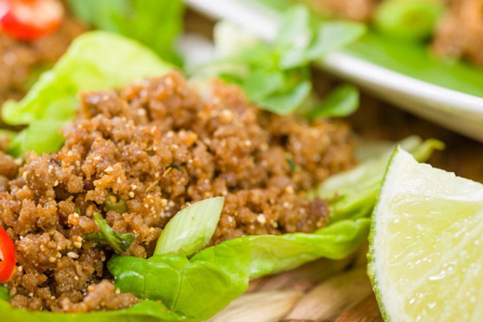 Chris Powell's Turkey Lettuce Taco Mix
