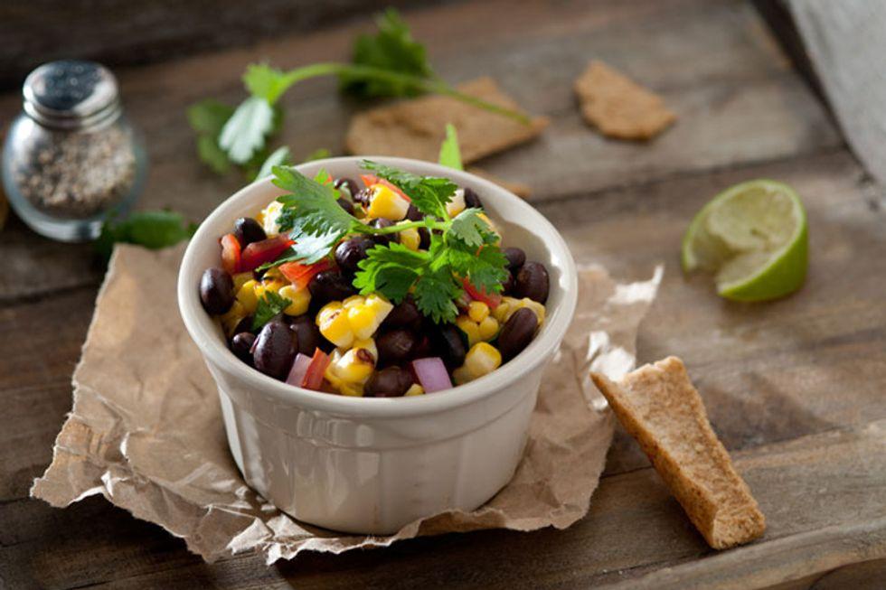 Corn-Blueberry Black Bean Salad