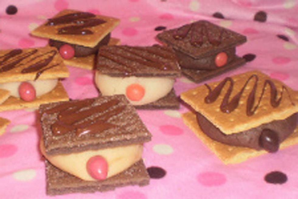 Crazy Health Sweets: Mammo-Grahams