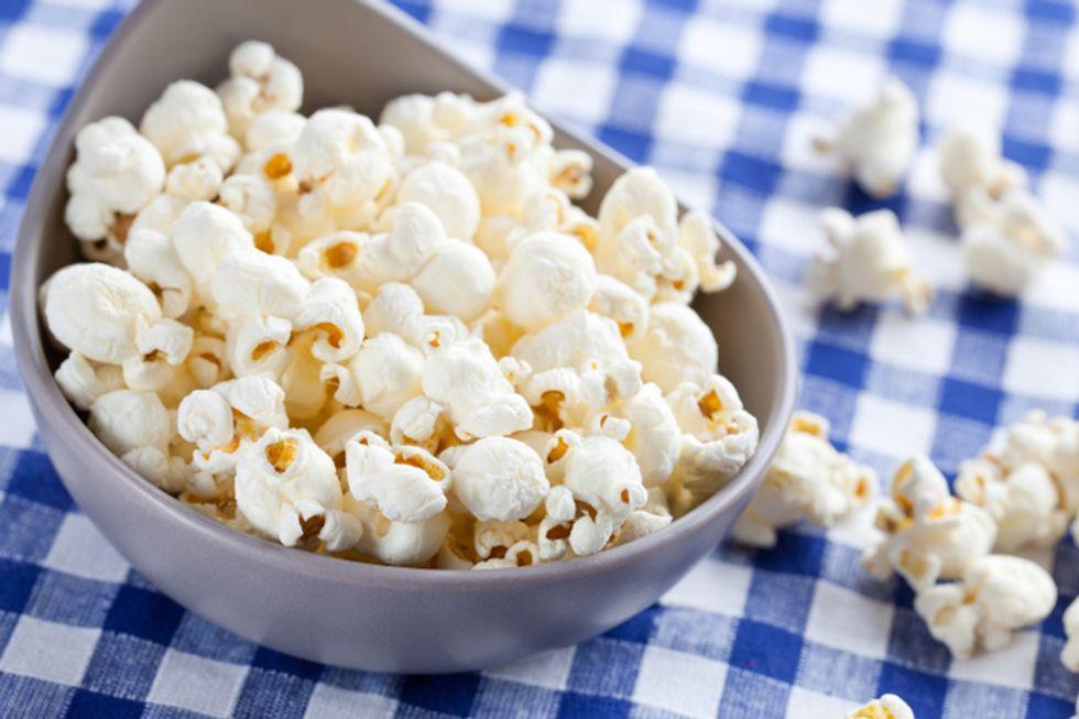 Dietitian Ashley Koff's Popcorn