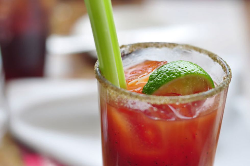 Dr. Oz's Virgin Bloody Mary
