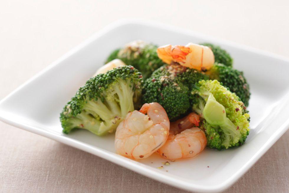 Grapeseed Oil Shrimp Stir-Fry
