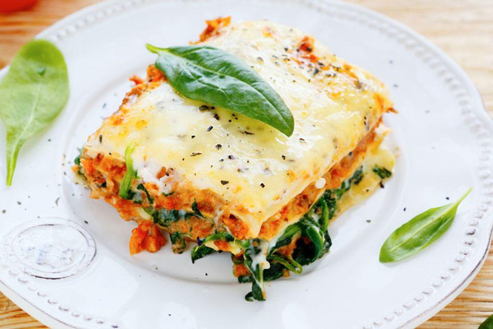 Hearty Meatball Lasagna