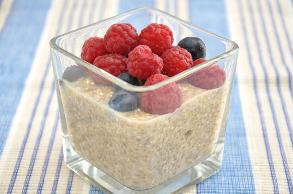 Quinoa Fruit Pudding