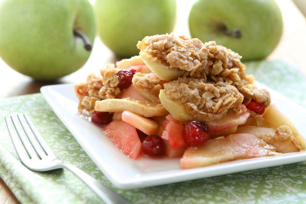 Annie's Recipes for Health: Apple Crisp