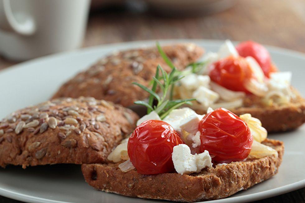 Dr. Petrucci's Cheddar & Tomato Melt