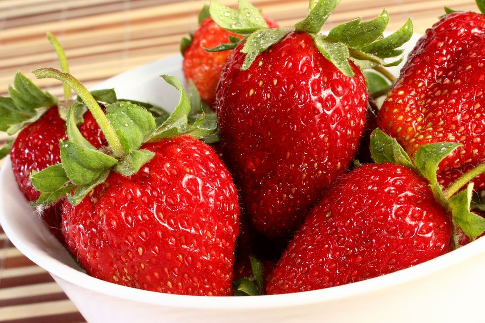 David Buer's Transform YOU Peanut Butter & Strawberry Power Smoothie