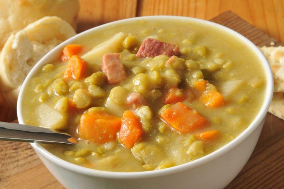 Dr. Lemole's Longevity Recipes: Zoey's Split Pea Soup